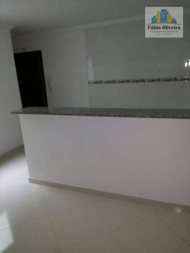 Imagem 1 de 12 de Cobertura Com 2 Dormitórios À Venda, 49 M² Por R$ 232.000,00 - Vila Guaraciaba - Santo André/sp - Co0054