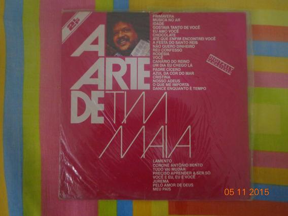 Lp Tim Maia - A Arte De Tim Maia (2 Lps) (1982)