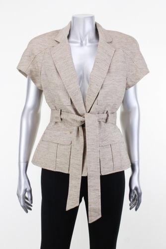 Abrigo Jacket Blazer Saco Anne Klein 6