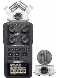 Zoom H6 Grabador Digital Portatil De 6 Canales