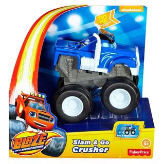 Blaze And Monster Machine - Crusher - Friccion -fisher Price