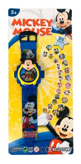 Relógio Com Projetor Digital Mickey Mouse
