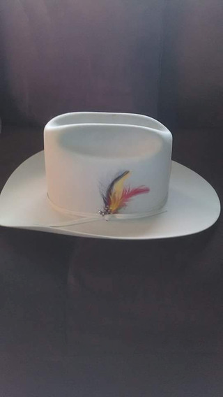 Sombrero Vaquero Stetson.color Gris.7x.medida 7.3/8.origonal