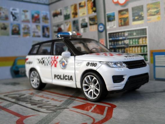 Miniatura Range Rover Sport Polícia Militar Pm Sp - Atual