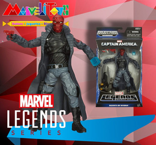 Marvel Legends Red Skull Baf Mandroid
