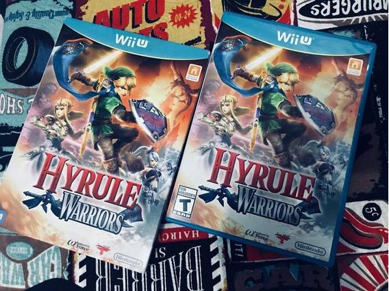 Jogo Hyrule Warriors Para Nitendo Wii U Usado