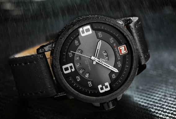 Relógio Masculino Esportivo Analógico Naviforce 9086 Barato