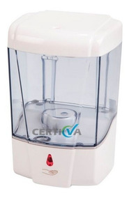 Dispenser Sabonete Sensor 700ml Resiste Alcool 1º Linha
