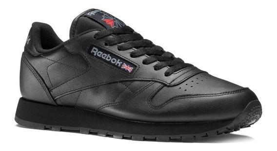 Tenis Reebok Classic Leather 2267 Negro Original!