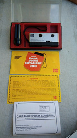 Camera Kodak Instamatic 200 Pocket Antiga Com Caixa