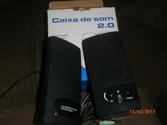 Caixa De Som 2.0
