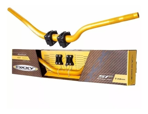 Guidão Oxxy Super Fat Bar Alto + Adaptador Motocross Trilha