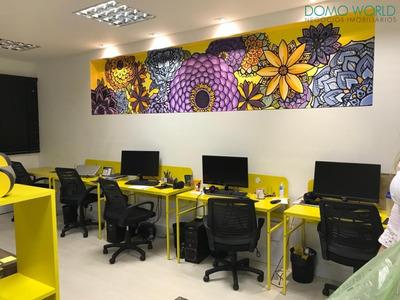 Sala Comercial - Condomínio Domo Business - Sa01026 - 33625715