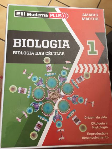 Livro De Biologia Moderna Plus (amabis Martho)