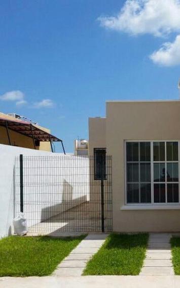Renta Casa En Cancun, Hermosa, Amplia, Seguridad!!