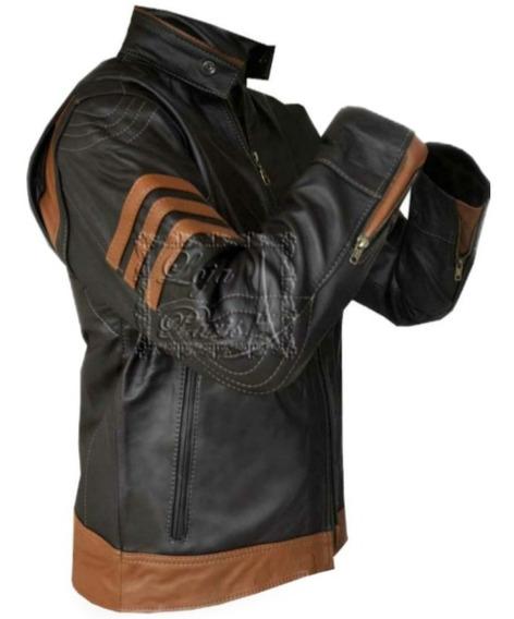 Jaqueta De Couro Masculina Wolverine Couro