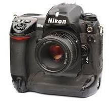 Nikon D2hs Corpo + 50mm Sem Motor