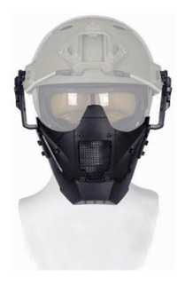 P8 Careta Gotcha Militar Tactica Airsoft Mask Casco Policia