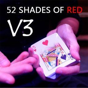 Magica(dvd) 52 Shades Of Red V3 By Shin Lim