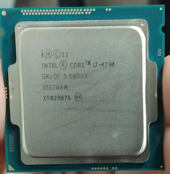 Processador Intel I7 4770 Com Cooler Original