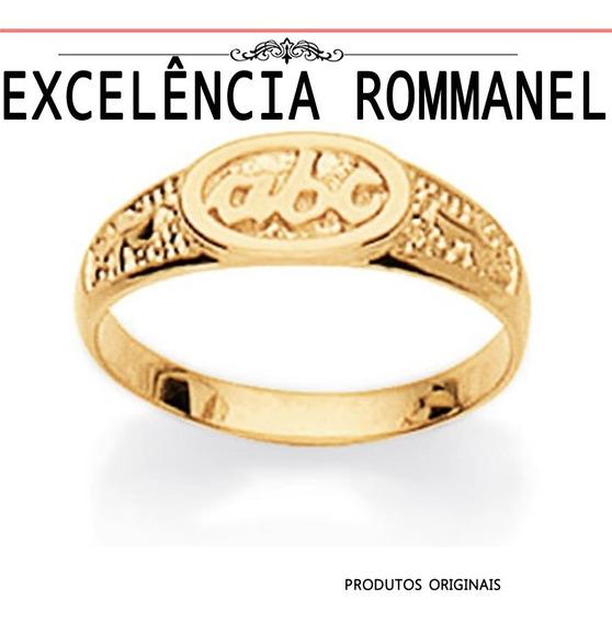 Anel Rommanel Infantil Abc Alfabeto Formatura Cri 510600