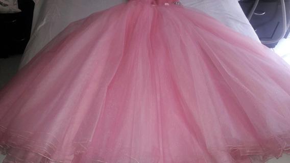 Vestido De Xv Años Por Eos Cordero Color Rosa T Ep