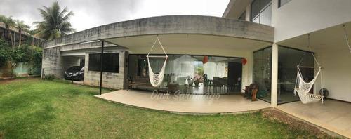 Imagem 1 de 22 de Casa Contemporânea Dentro De Condomínio - Ca0183