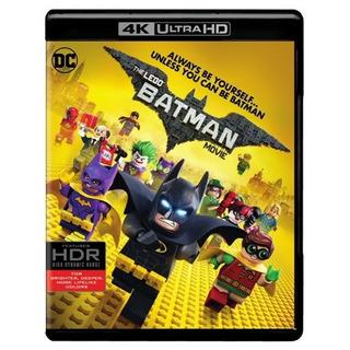 La Película De Batman De Lego (4k Ultra Hd + Blu-ray + Di