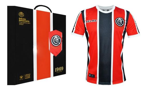 Camiseta Chacarita Kelme Edicion Aniversario 1969 Original