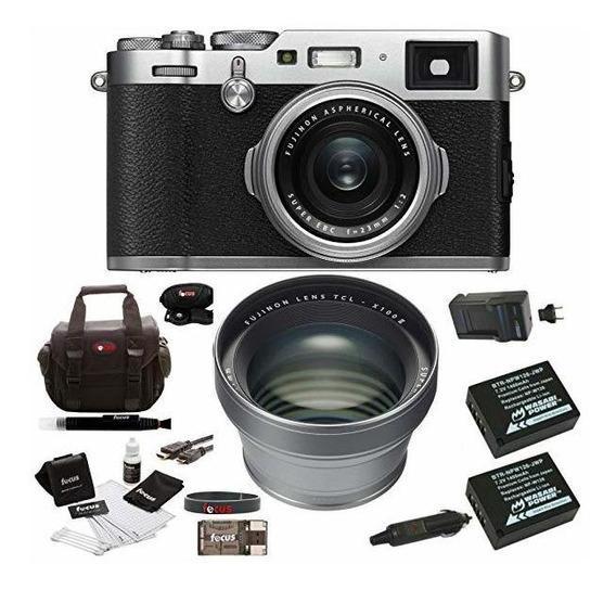 Camara Fuji X100f Digital Tcl-x100 Ii Teleconverter Kit Si ®