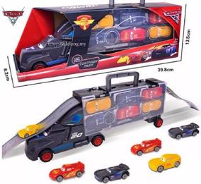 Carros 3 Caminhão Jackson Storm + 6 Carrinhos