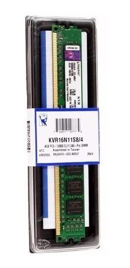 Memoria Ddr3 Kingston 4gb 1600 Mhz