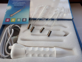 Aparelho Alta Frequência Eletroterapia Bivolt Com Adaptador