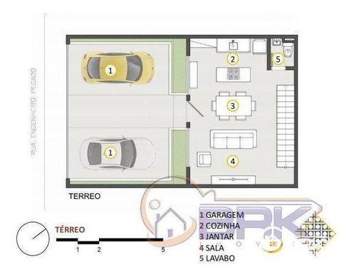 Sobrado Com 2 Dormitórios À Venda Por R$ 650.000,00 - Vila Carrão - São Paulo/sp - So0316