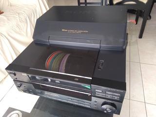 Reproductor Sony 100 Cds De Audio Cdp-cx100