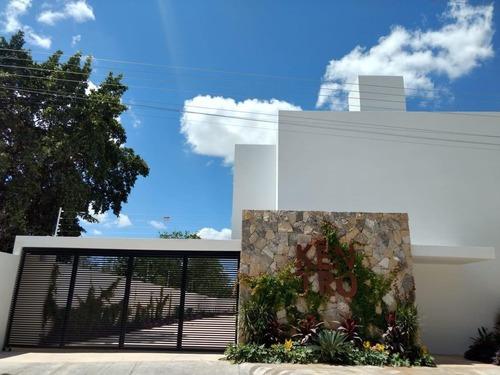 Town House Kentro En Montes De Amé,mérida,yucatán