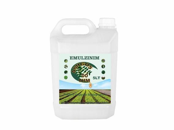 Óleo Emulsionado Vegetal Para Jardim Plantas 5 Litros