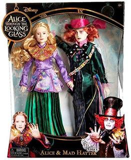 Disney Alice A Través Del Espejo Alice & Mad Hatter