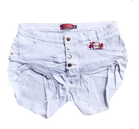 Short Jeans Feminino Plus Size Ate O Tamanho 60