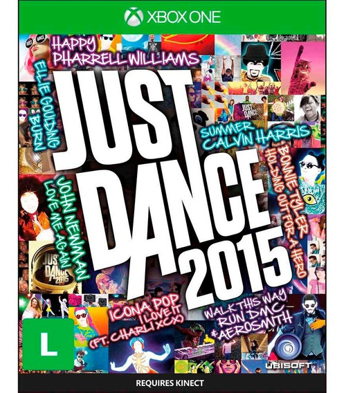 Just Dance 2015 Xbox One Mídia Física Novo Lacrado