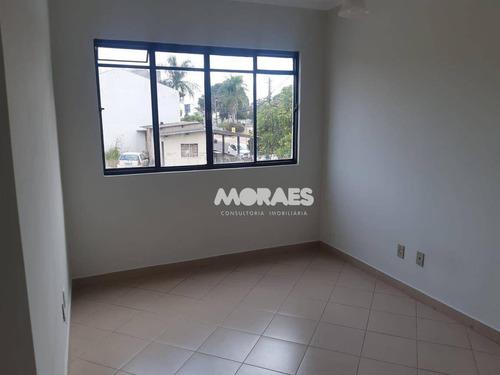 Apartamento Com 1 Dormitório Para Alugar, 40 M² Por R$ 900/mês - Center 1  - Bauru/sp - Ap1920
