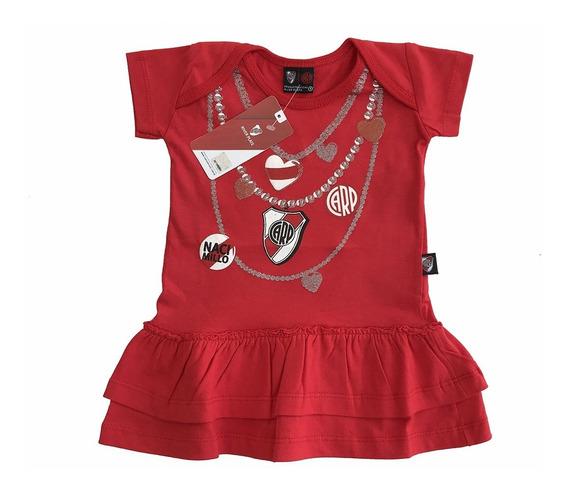 Vestido De Beba Nena River Plate Producto Oficial