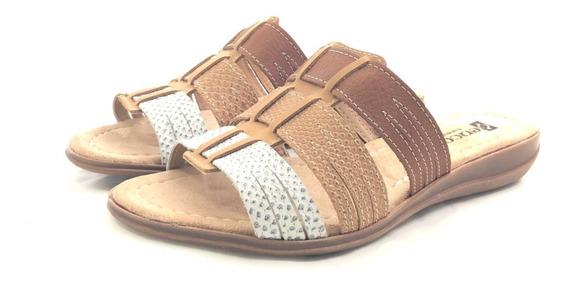 Encore 250 Sandalia Cuero El Mercado De Zapatos!!