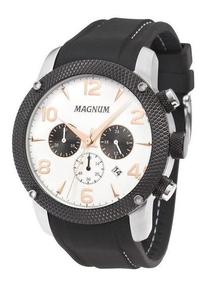 Relógio Magnum Masculino Preto Analógico Ma34889q