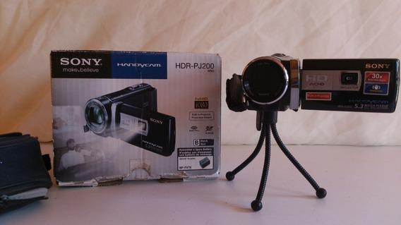 Cámara Filmadora Sony Hamndycam Hdr-pj200