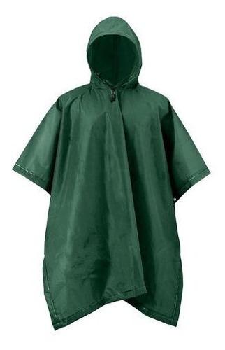 Mossi Adult Xt Series Rain Poncho Forest Green