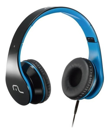 Headphone Com Microfone Para Celular Azul Multilaser Ph113