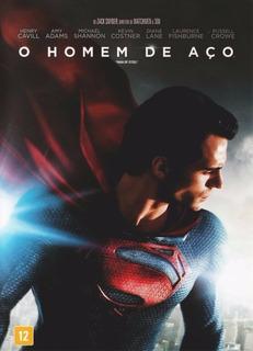 Dvd - O Homem De Aço - Superman