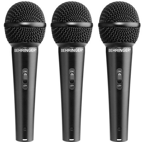 Microfone Barato Behringer Xm1800s Kit 3 Xm1800