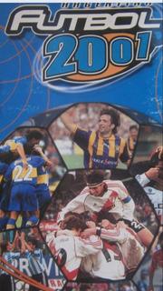Figuritas Álbum Futbol 2001 Elegí Tus Faltantes